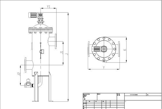 电控器,控制管路和排污阀构成过滤器的控制部分,用于实现自动清洗排污